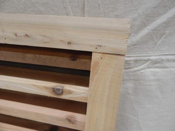 """Wood Louvered Vent for your Shed, cottage or Barn.  Handmade from localy sourced sustainable Pine. Roughly 15""""x16""""x3.5""""."""