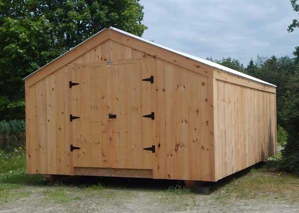14x20 Economy Barn Exterior