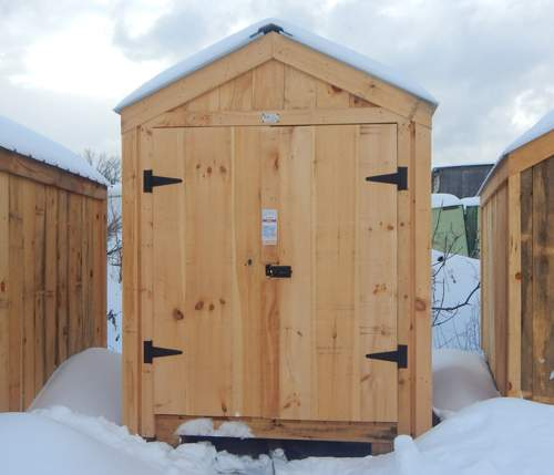 6x8 Nantucket Storage Shed