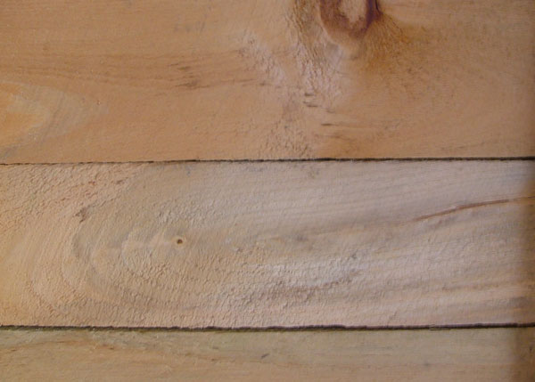 Solid Rough Sawn Pine Board