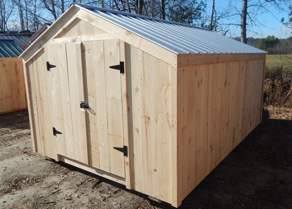 Prefab backyard storage shed for sale 140 square feet
