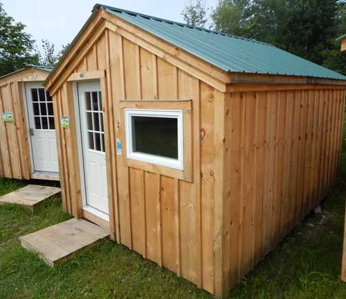 Four season cabin for hunting, camping or use as a backyard office