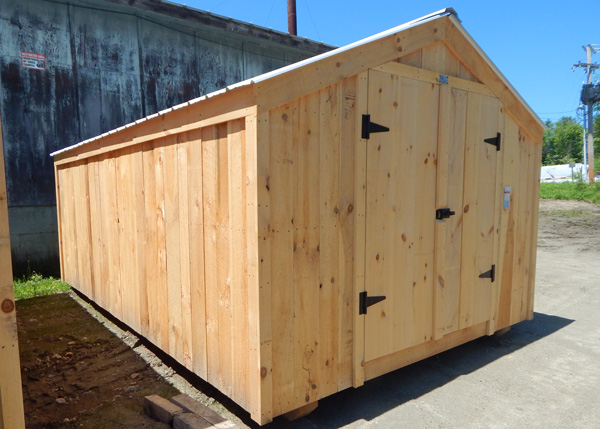 160 square foot storage shed at an affordable price