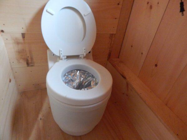 Laveo Dry Flush Toilet for off-grid living