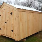 96 square foot storage shed
