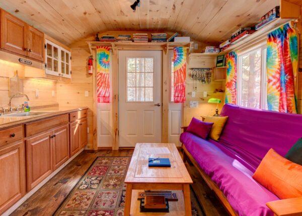 Apple Blossom Cottage Tiny House Interior