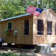 14x26 Solar Cabin - With Screened Porch