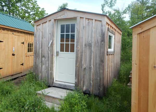 8x10 Bunkie - Assembled Four Season Cottage