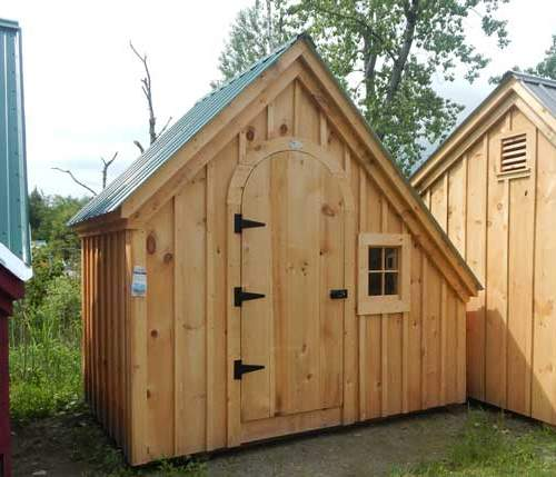 6x10 Hardware Shed