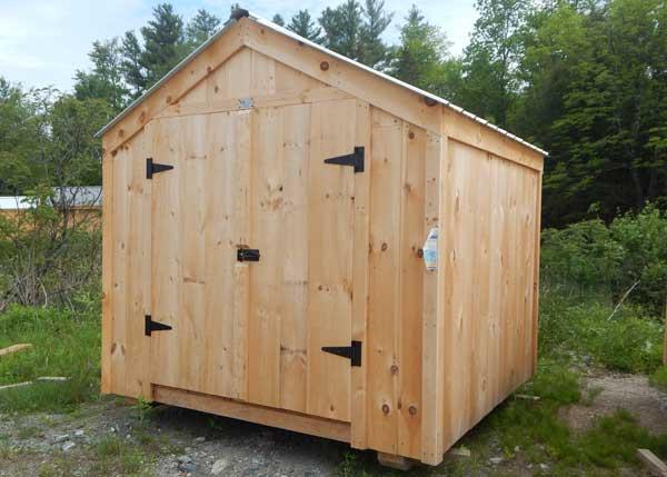 8x8 Economy Vermonter - Garden Shed