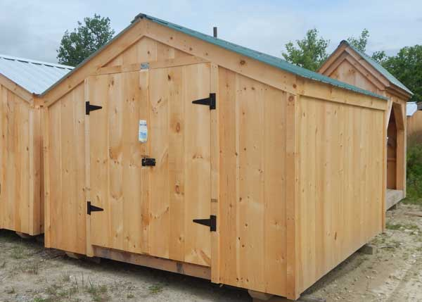 10x10 Vermonter - Backyard Storage Shed