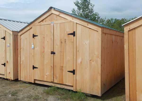 10x12 Vermonter - Backyard Storage Shed