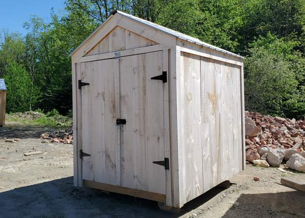 6x8 Nantucket Affordable Small Storage Shed