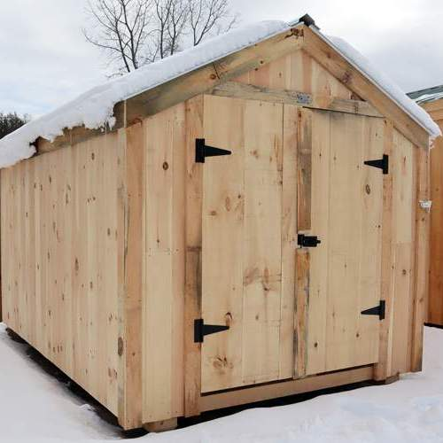 8x12 Economy Vermonter Storage Shed
