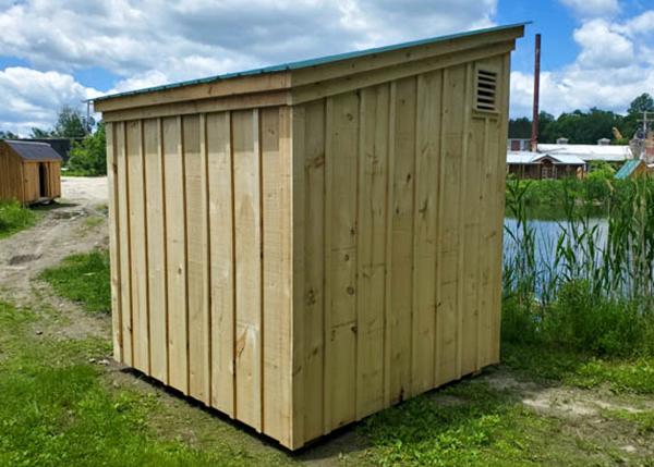 Learn how to build your own storage shed with this outdoor building kit.