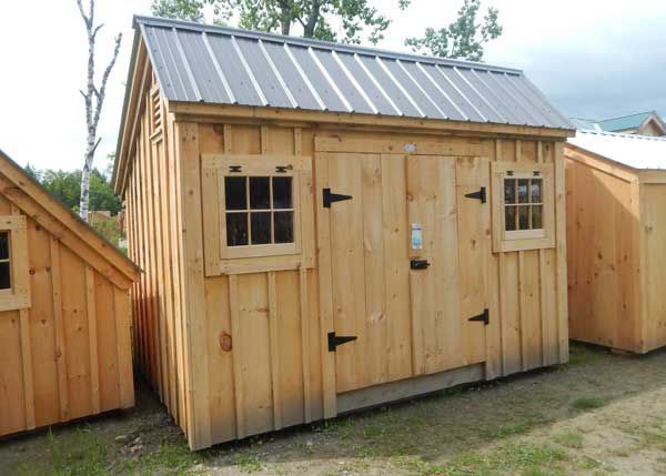 8x12 Saltbox Shed - Assembled