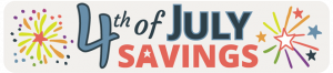 4th of July Sale at Jamaica Cottage Shop