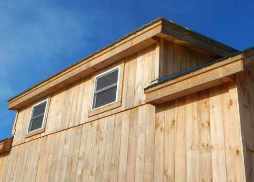 Custom Shed Dormer with Windows