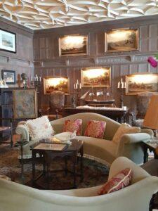Interior of mansion in Newport Rhode Island