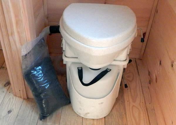 2 Gallon Bag of Compost Toilet Starter Mix