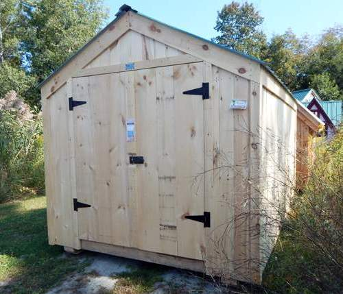 8x10 Economy Vermonter Storage Shed