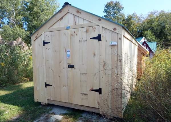 8x10 Economy Vermonter Storage Shed