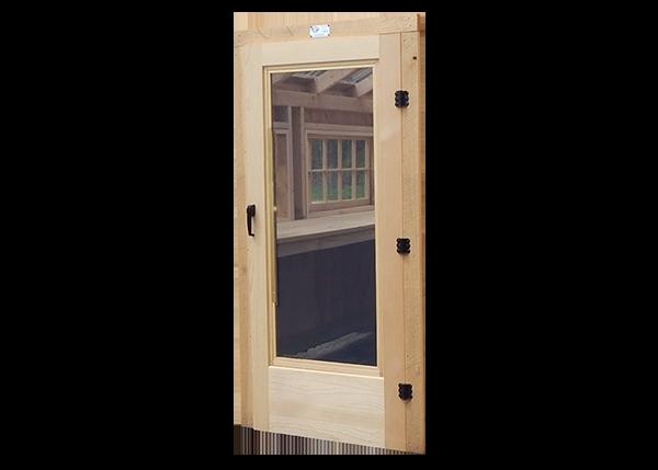 Combination Door with Trim