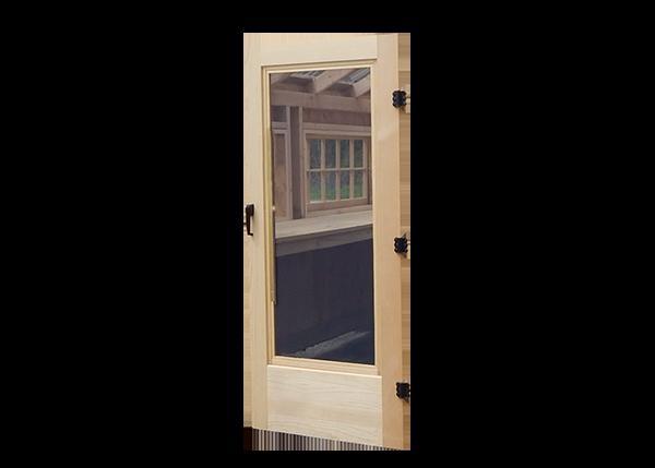 Combination Door for Greenhouses