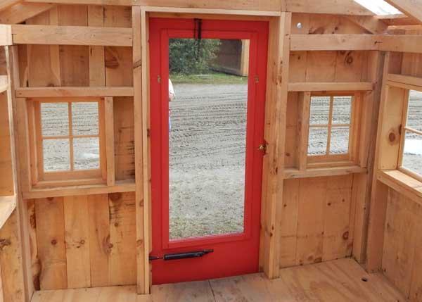 Painted Combination Door
