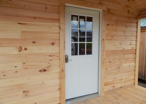 9-Lite Insulated Steel Door
