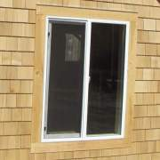 4x4 Insulated Slider Window with Screen