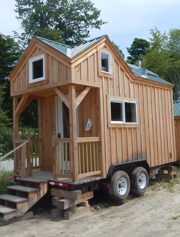 A custom Tiny House 8x16