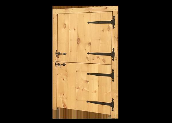 Dutch Door with Trim Installation Package
