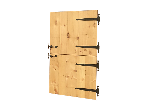 Dutch Door with Hardware
