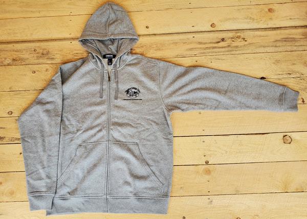 Gray Long Sleeve JCS Hoodie