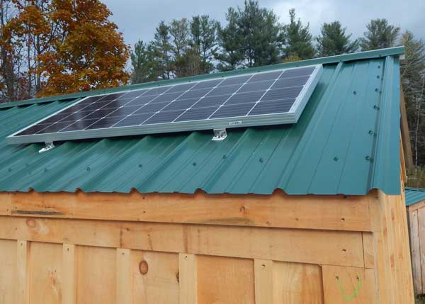 Solar Panel Off Grid Electrical Options