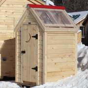 4x4 Working Outhouse - Custom