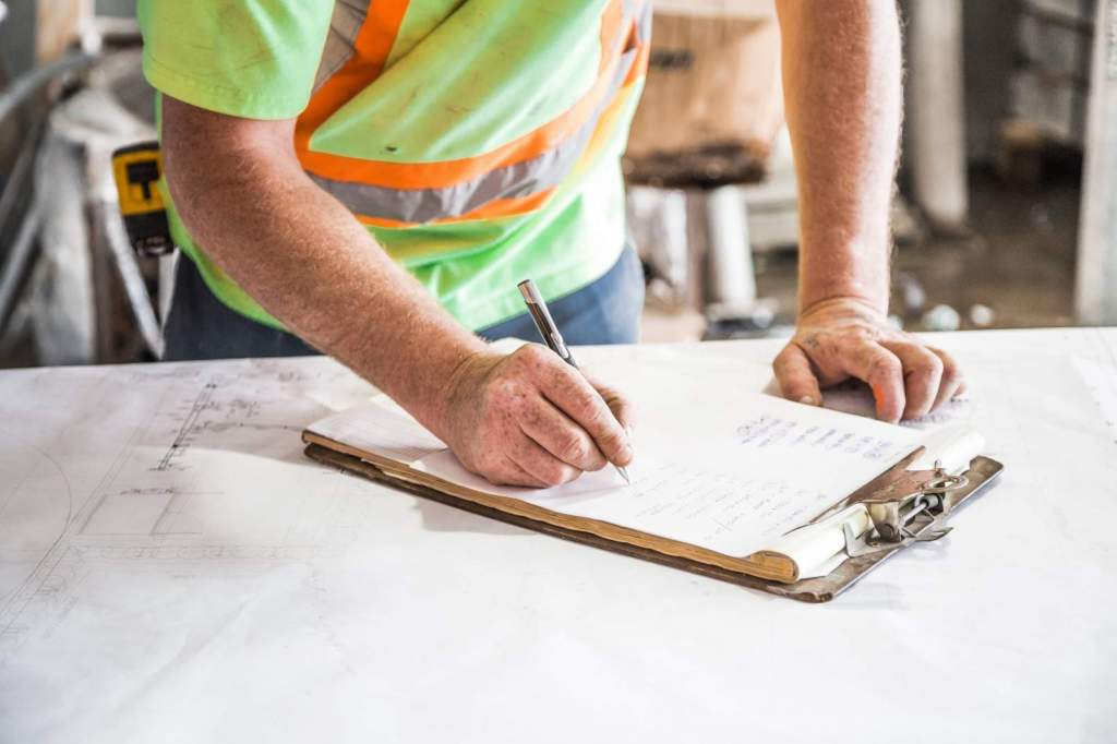 Work with a contractor to help plan your tiny home build.