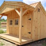 12x12 Potting Fort - Shed with a Porch