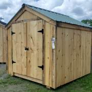 8x10 Economy Vermonter Affordable Storage Shed for Sale