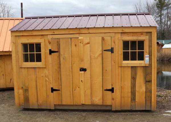 6x12 72 square foot small storage shed