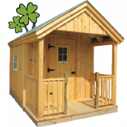Front page sale time image of a Garden Shed for the St Patty's Day Sale - ends 03.22.21