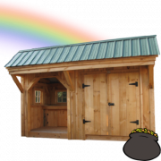 Front page sale time image of Weston Potting Shed for the St Patty's Day Sale - ends 03.22.21