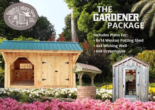 The Gardner Package - building plans for landscaping