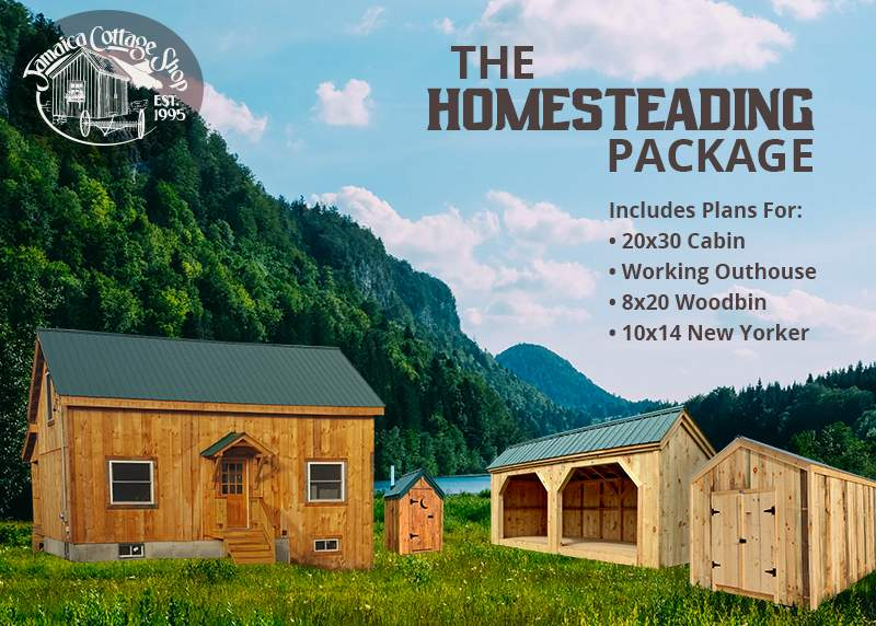 Homesteading Plans Package - Collection of DIY Building Plans
