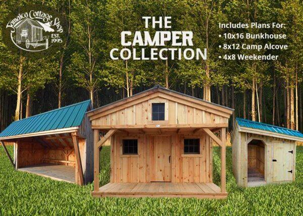 The Camper Collection Building Plans Bundle