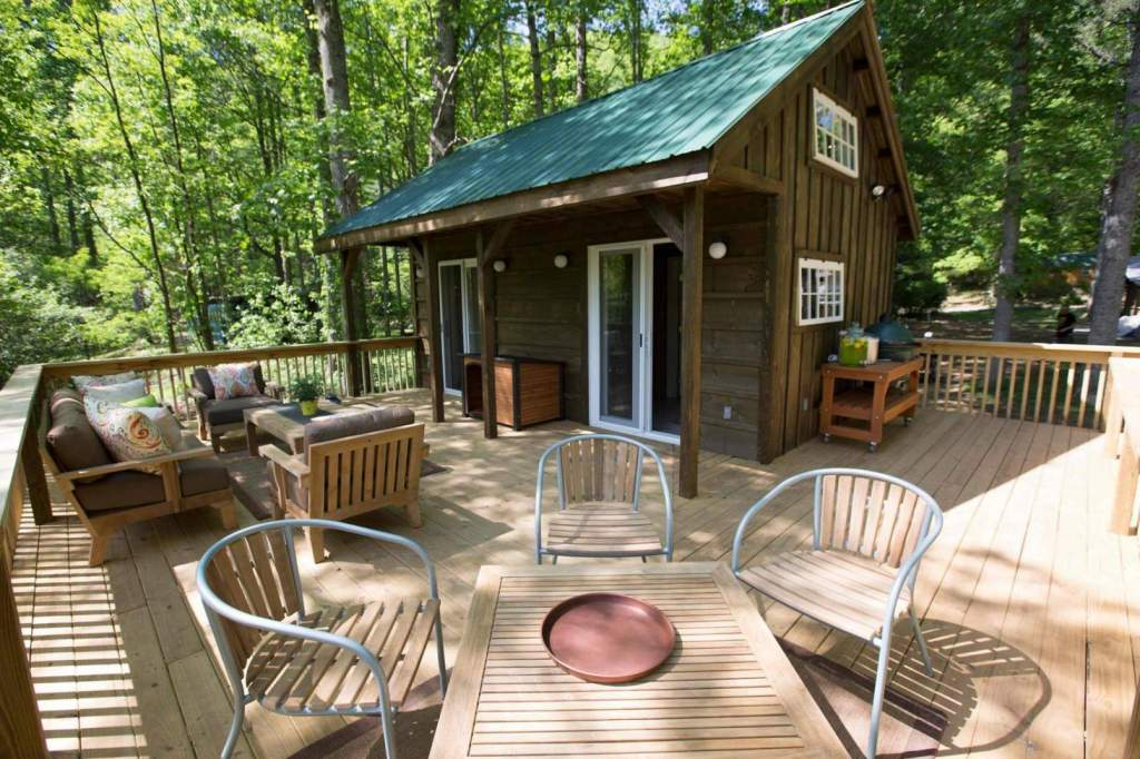 This Vermont Cottage was featured on the hit TV show Tiny House Nation.