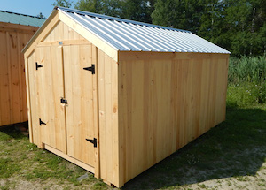 8x14 Economy Vermonter - 112 square foot shed