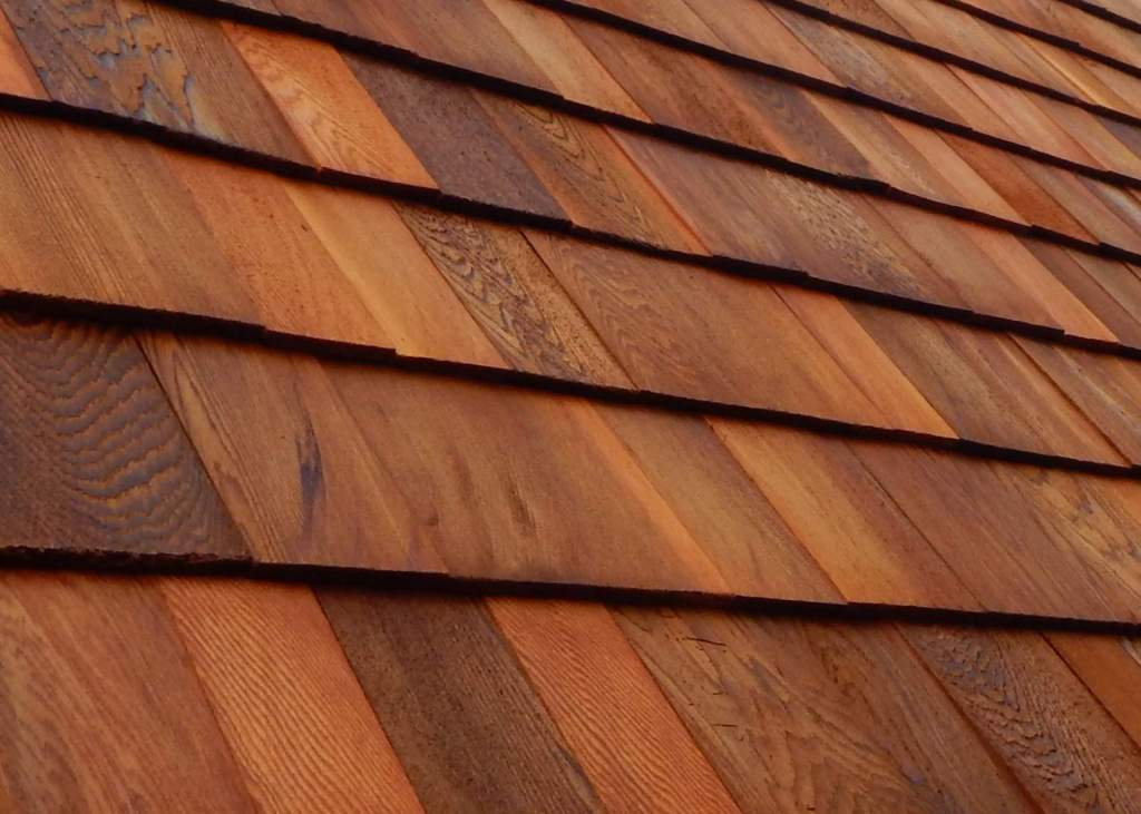 Red Cedar Shingles for shed siding and roofing